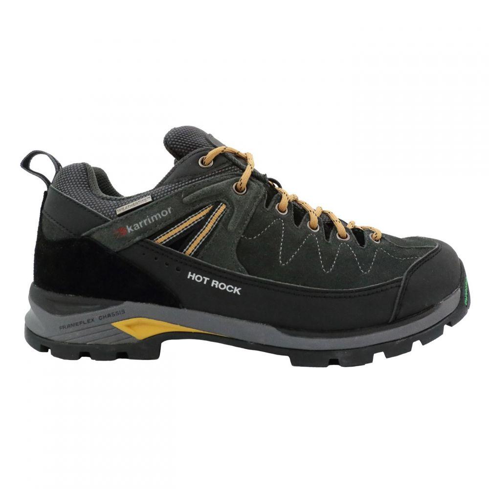 カリマー Karrimor メンズ ランニング・ウォーキング シューズ・靴【Hot Rock Low Walking Shoes】Charcoal/Yellow
