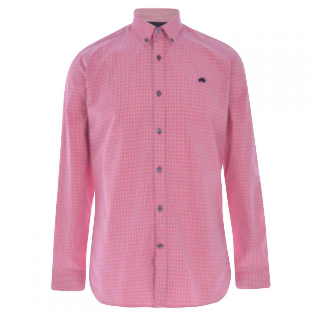 ライジング ブル Raging Bull メンズ トップス【Raging Long Sleeve Macro Shirt】Vivid Pink