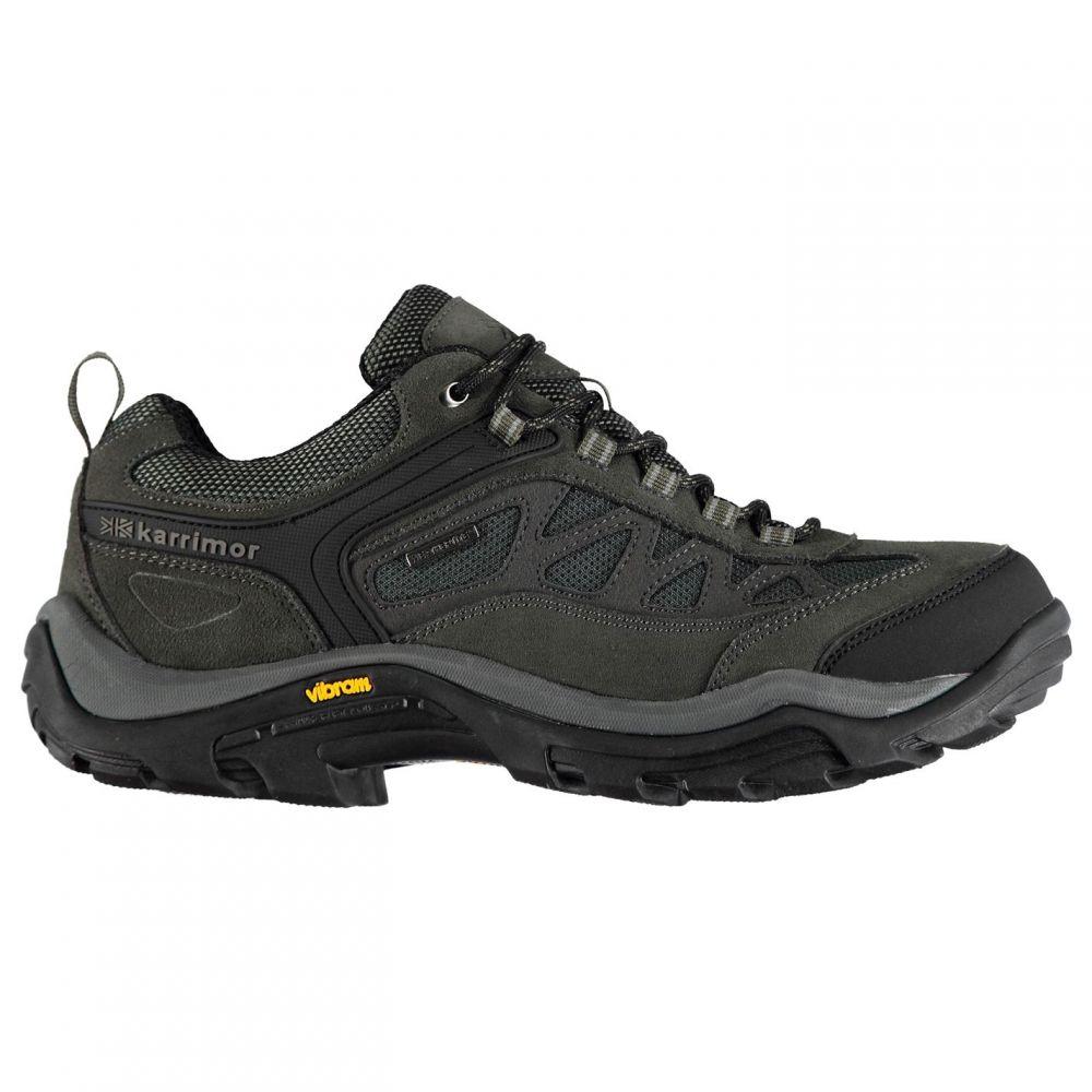 カリマー Karrimor メンズ ランニング・ウォーキング シューズ・靴【Aspen Low Walking Shoes】Charcoal