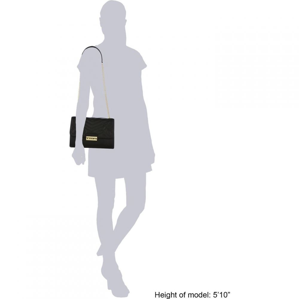 バッグ Biba ショルダーバッグ レディース Black 【Eloise Leather Shoulder Bag】 ビバ