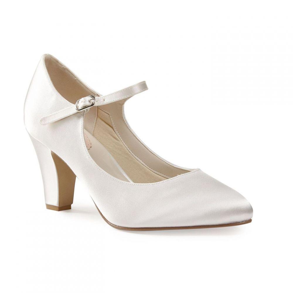 パラドックスロンドンピンク Paradox London Pink レディース シューズ・靴 パンプス【Radiance Satin Mary Jane Court Shoes】Cream