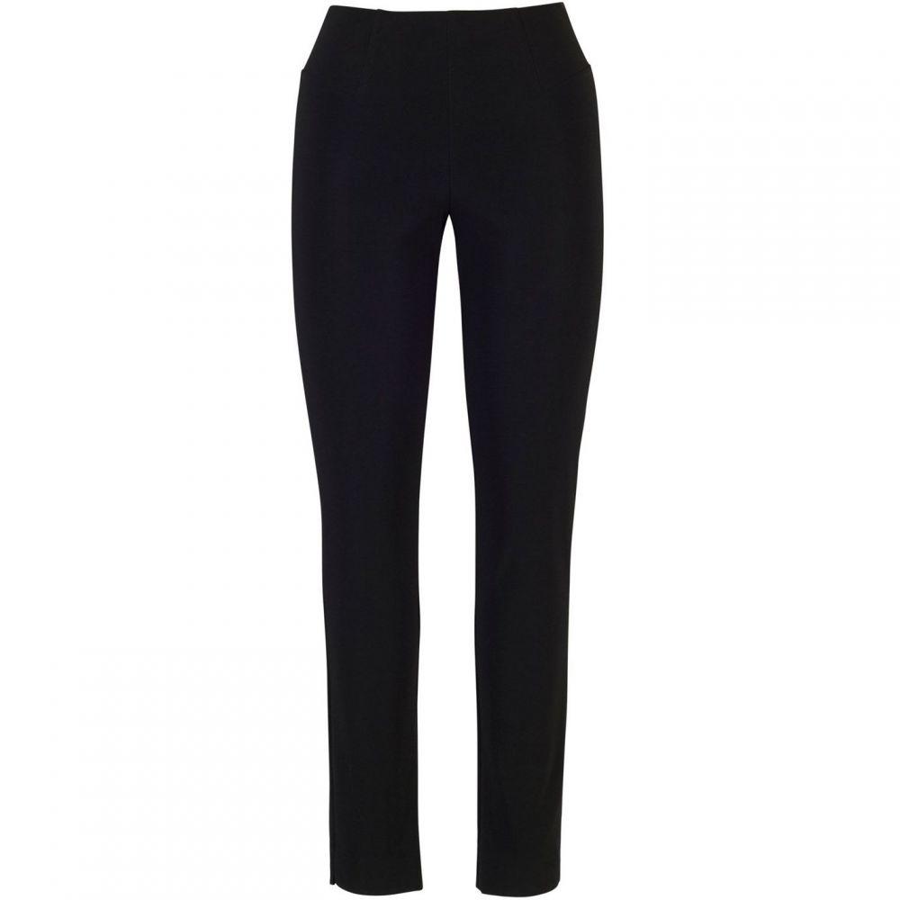 チェスカ Chesca レディース ボトムス・パンツ【Side Slit Seam Detail Trouser】Black