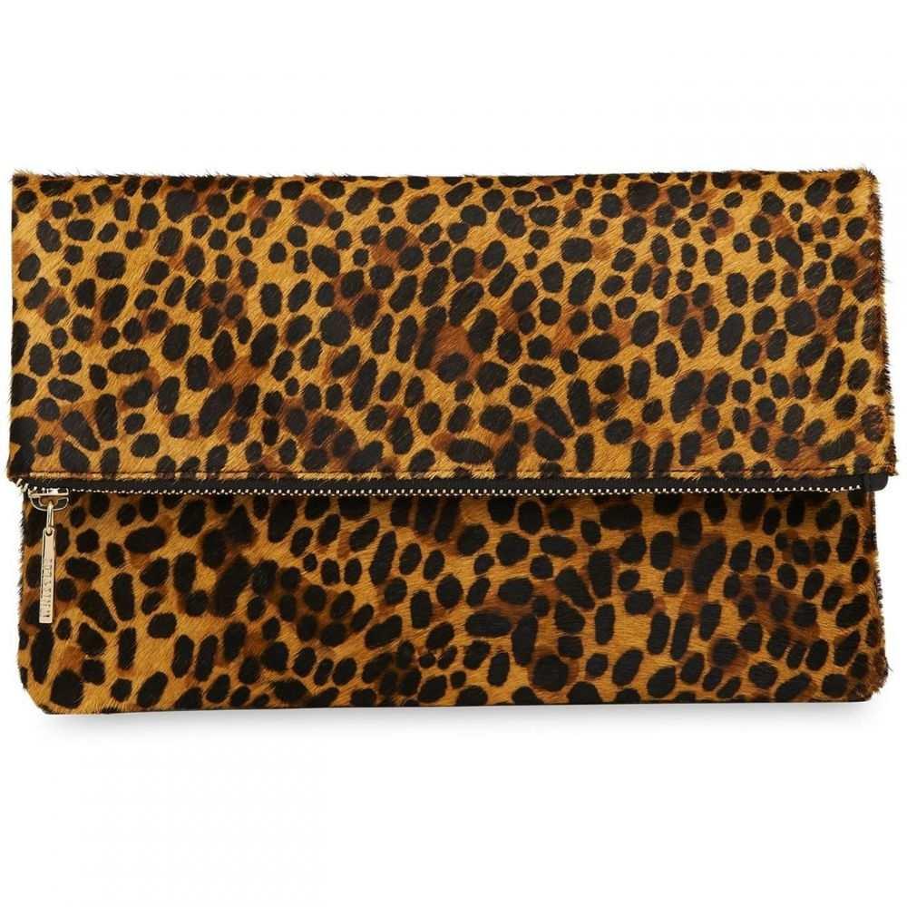 ホイッスルズ Whistles レディース クラッチバッグ バッグ【chapel leopard foldover clutch】Leopard Print