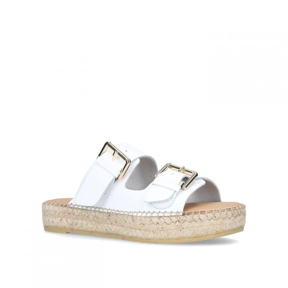 カーベラ Carvela レディース シューズ・靴 サンダル・ミュール【Klever Sandals】White
