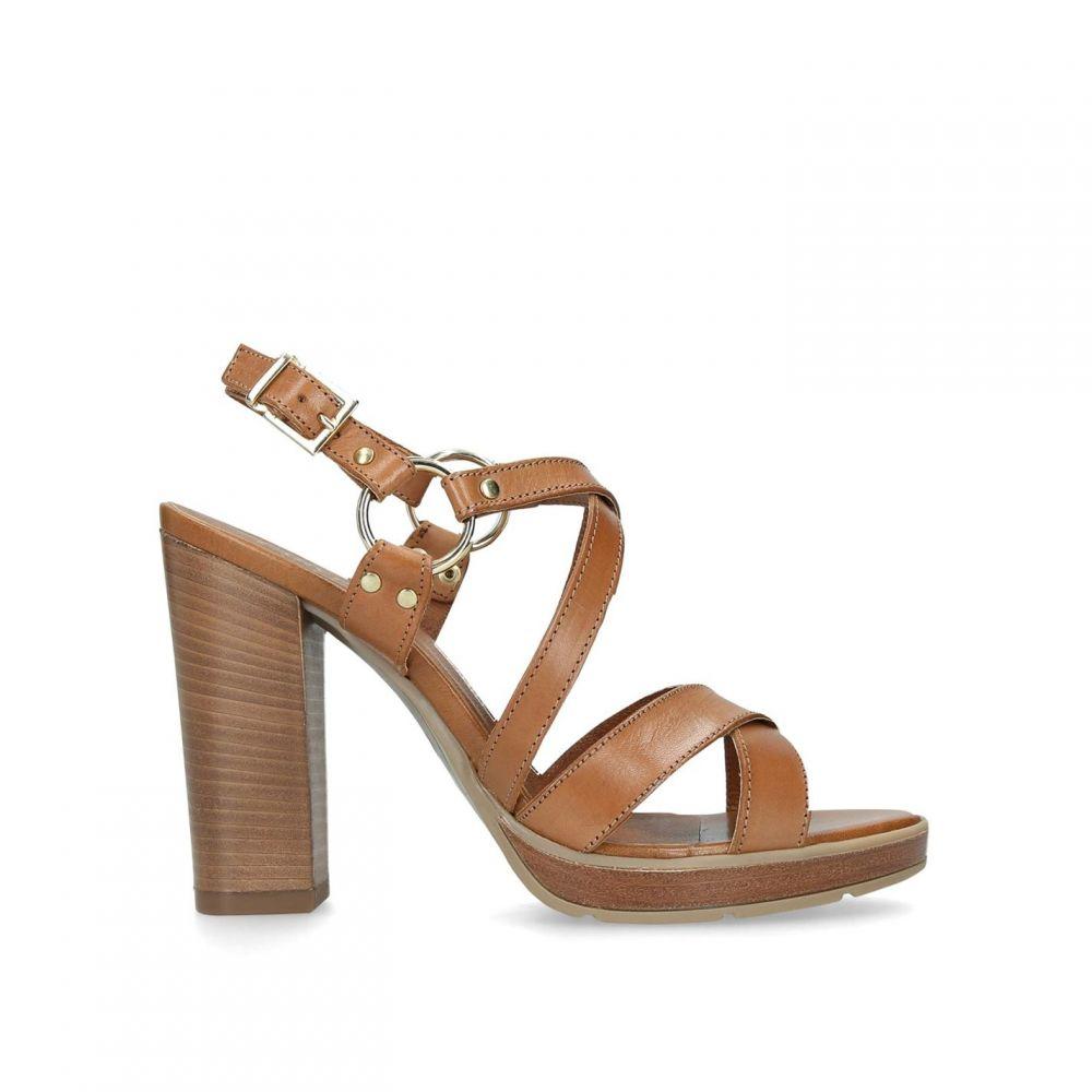 カーベラ Carvela レディース シューズ・靴 サンダル・ミュール【Karmen Sandals】Brown