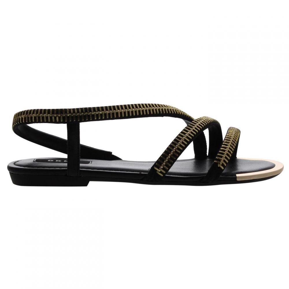 ダナ キャラン ニューヨーク DKNY レディース シューズ・靴 サンダル・ミュール【Khloi Low Sandals】BLK Black
