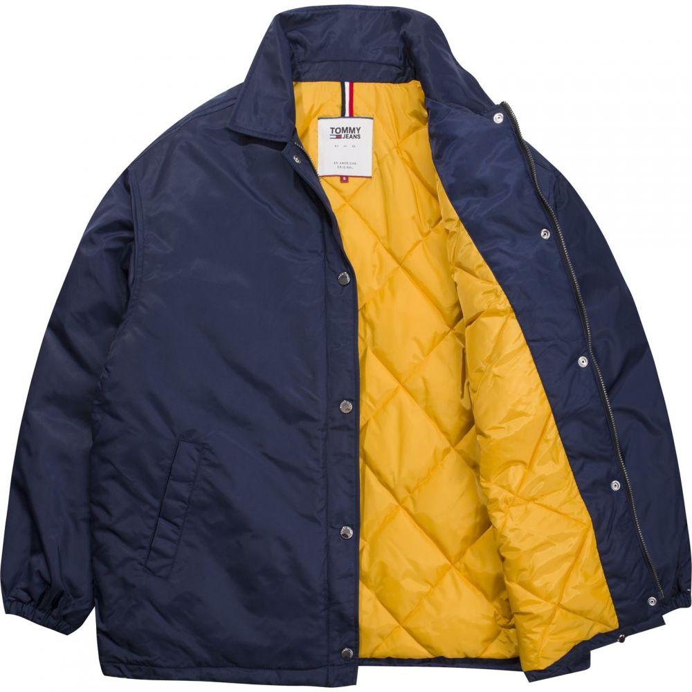 トミー ジーンズ Tommy Jeans レディース ジャケット アウター【quilted logo jacket】Navy