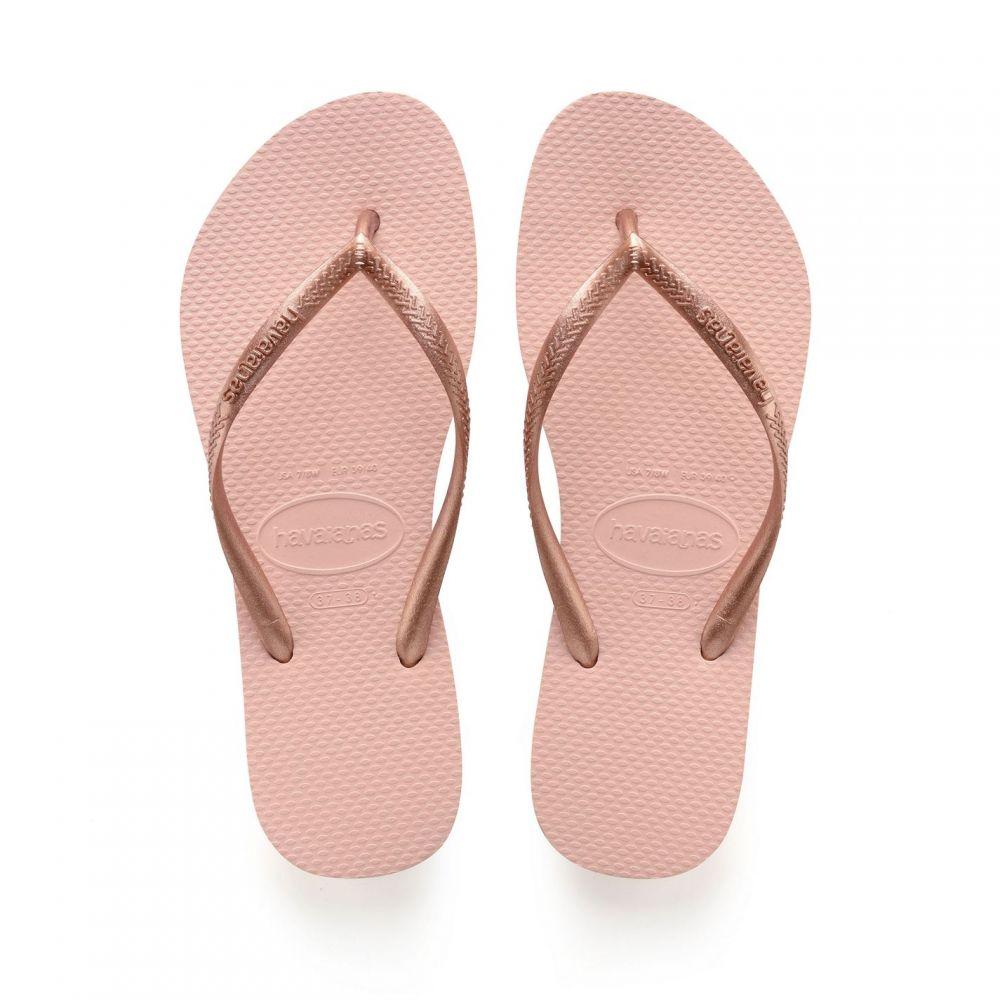 ハワイアナス Havaianas レディース シューズ・靴【HAVAIANAS SLIM】Pink