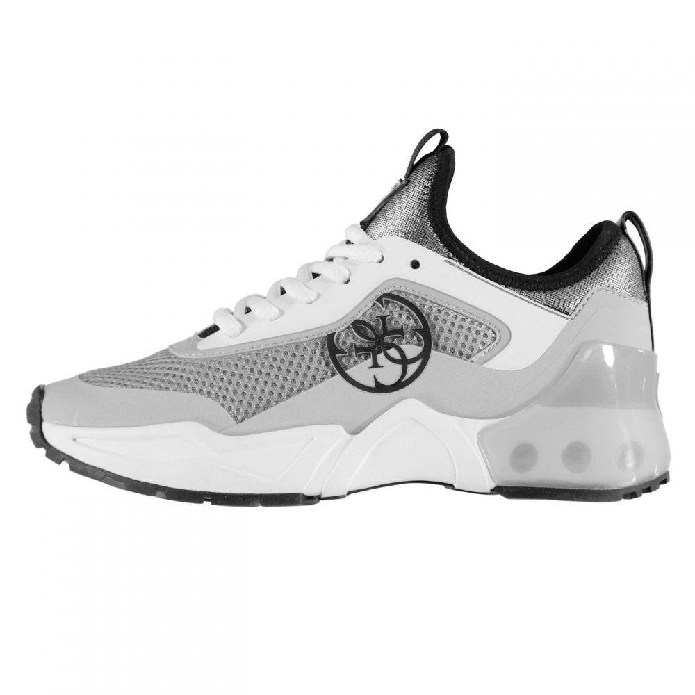 ゲス Guess レディース シューズ・靴 スニーカー【Teckie Trainers】Silver/Grey