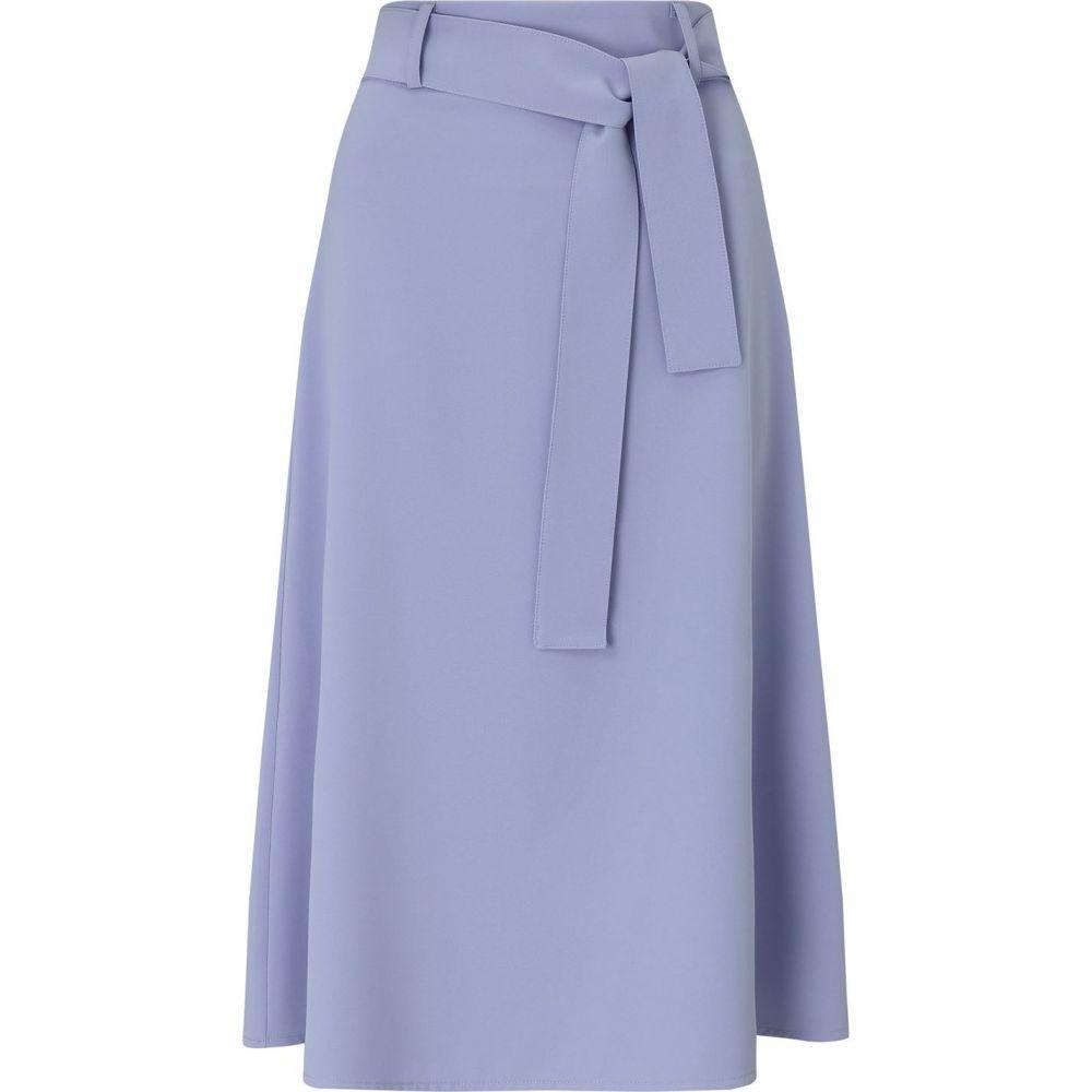ジュームズ レイクランド James Lakeland レディース スカート 【cady skirt w belt】Blue