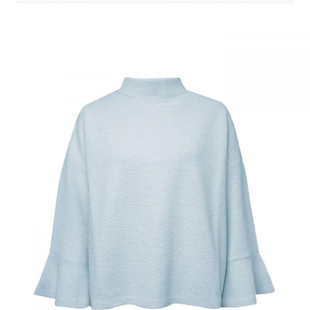 フレンチコネクション French Connection レディース トップス 【ellen texture mock neck top】Blue