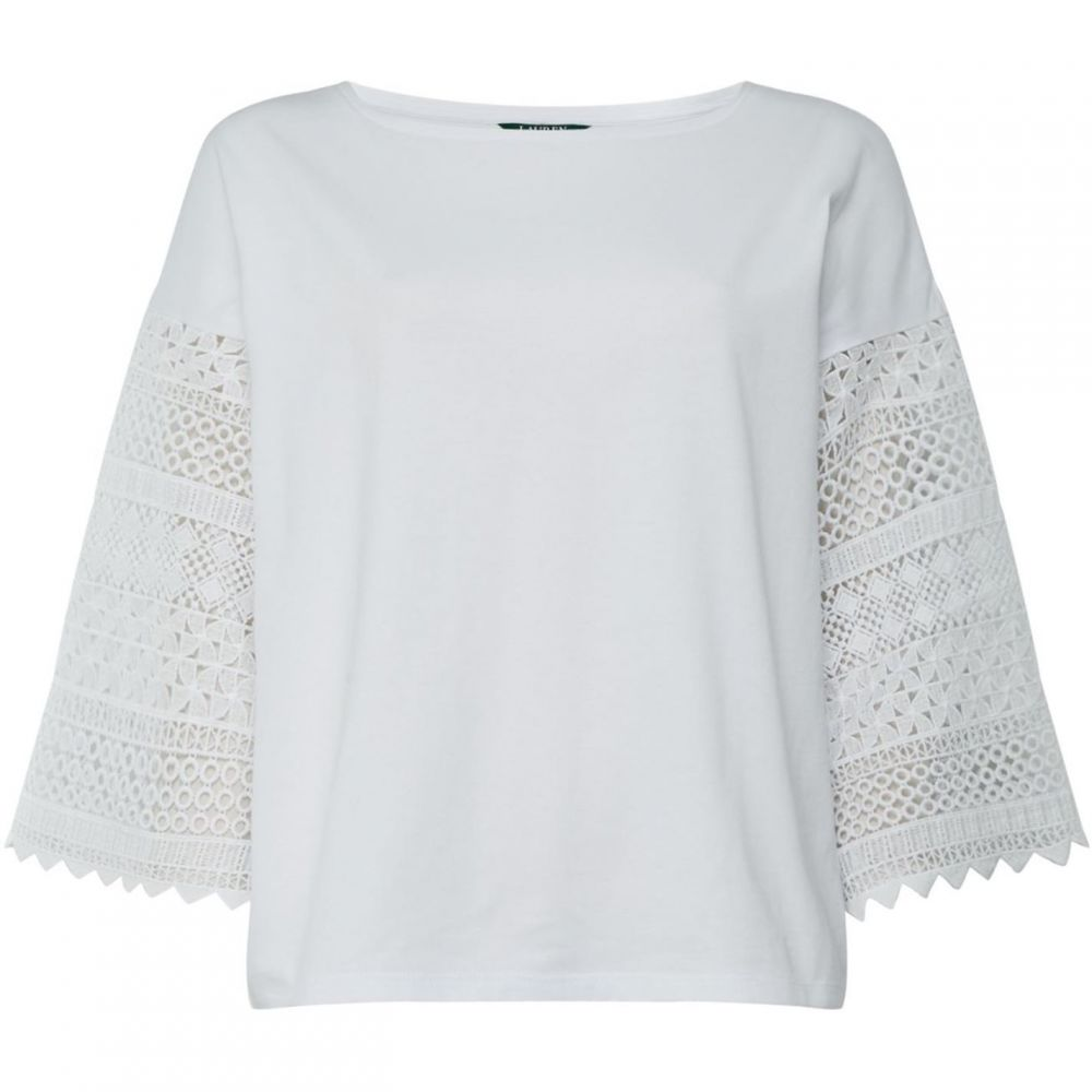 ラルフ ローレン Lauren by Ralph Lauren レディース トップス 【kraysha knit top】Off White