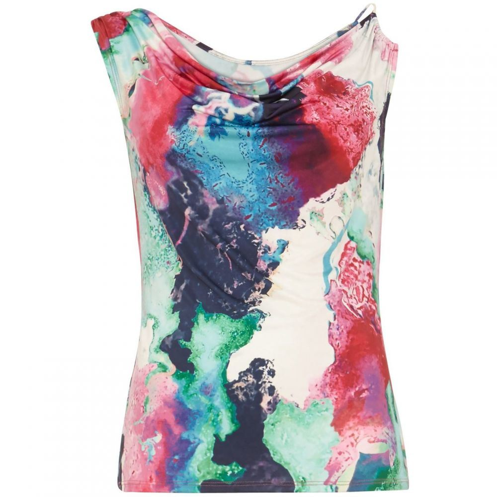 ダンセル Damsel in a Dress レディース トップス 【amazon print jersey top】Multi-Coloured