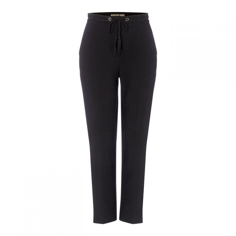 ビバ Biba レディース ボトムス・パンツ 【tailored tie trousers】Black