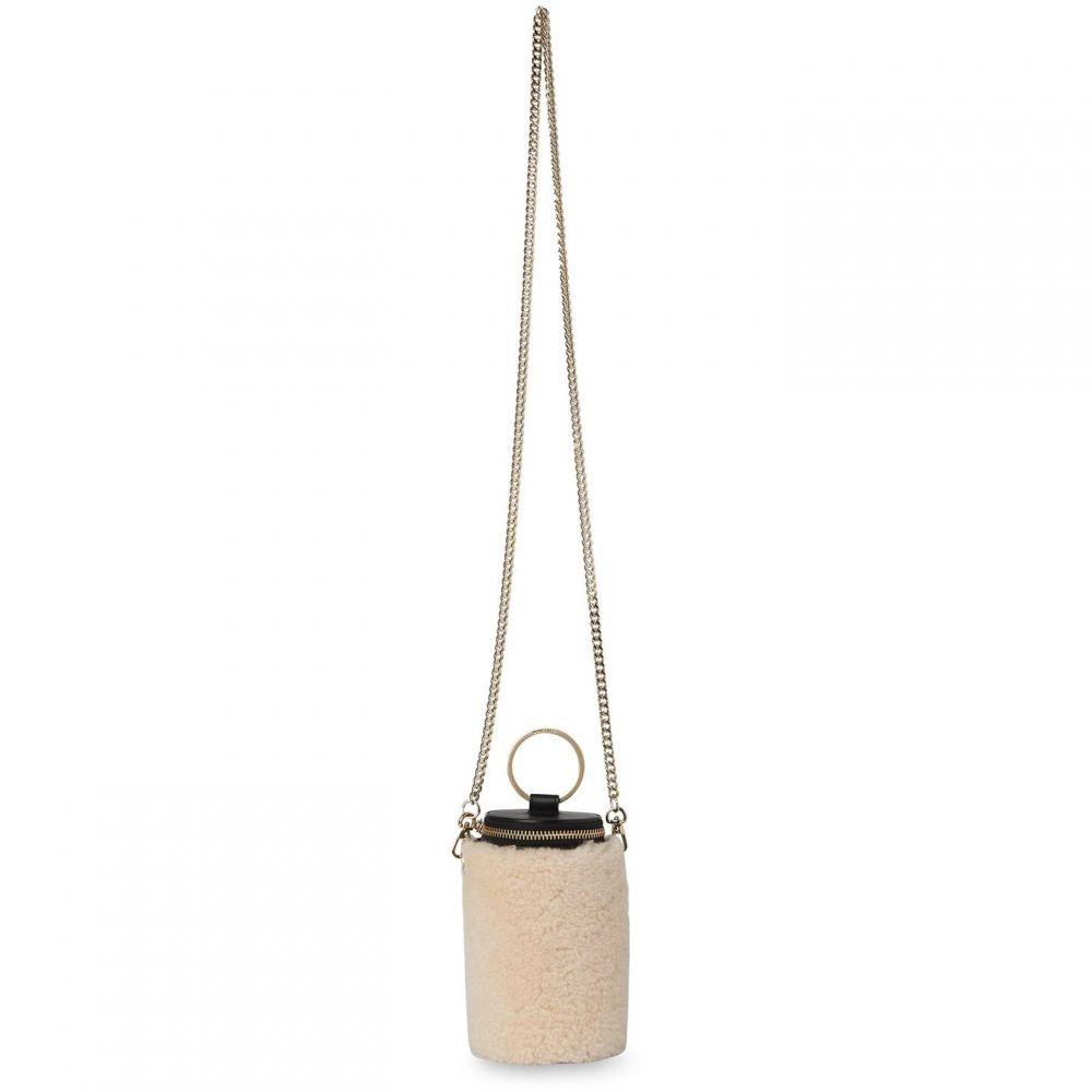 ホイッスルズ Whistles レディース バッグ シアリング【eden shearling cylindrical bag】Beige