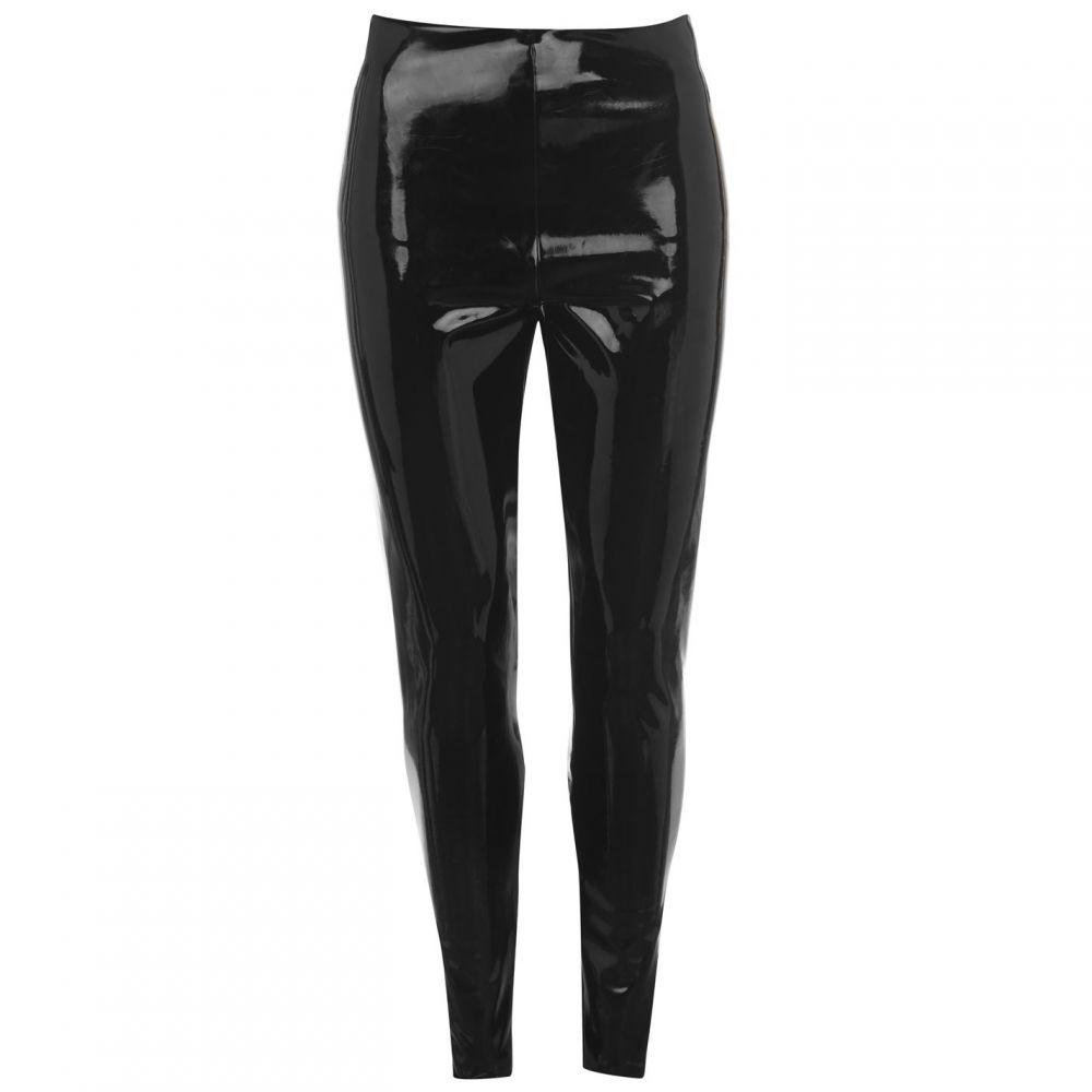 コマンドー Commando レディース ボトムス・パンツ レザーレギンス【faux leather patent leggings】Black