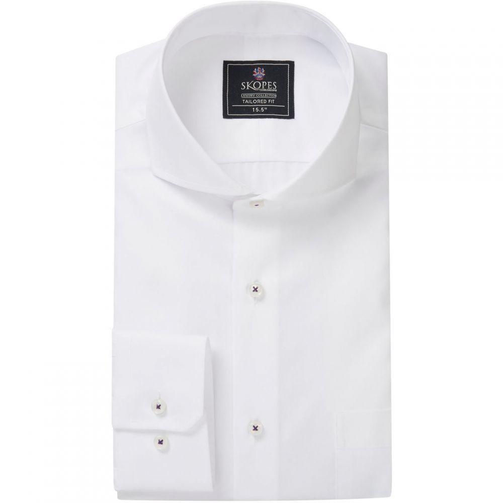 スコープス Skopes メンズ シャツ トップス【luxury collection formal shirts】White