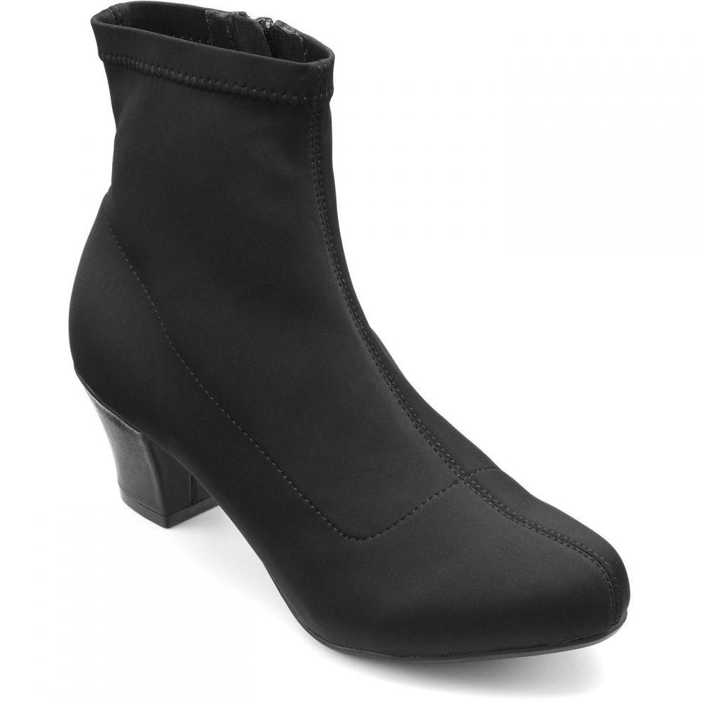 フーター Hotter レディース ブーツ シューズ・靴【joy formal smart stylish boots】Black