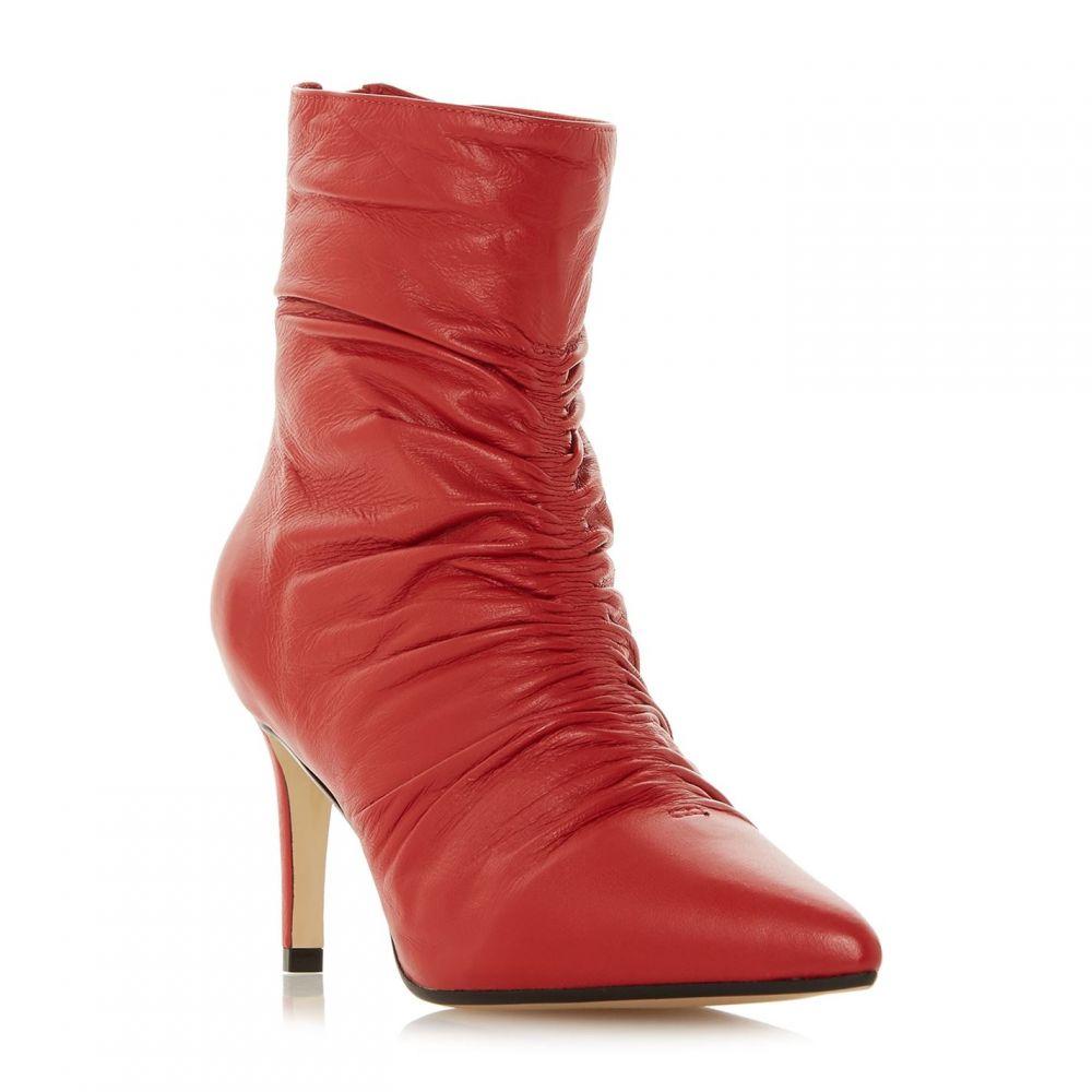 デューン Dune レディース シューズ・靴 ブーツ【Oasis Rouche Point Dressy Boots】Red