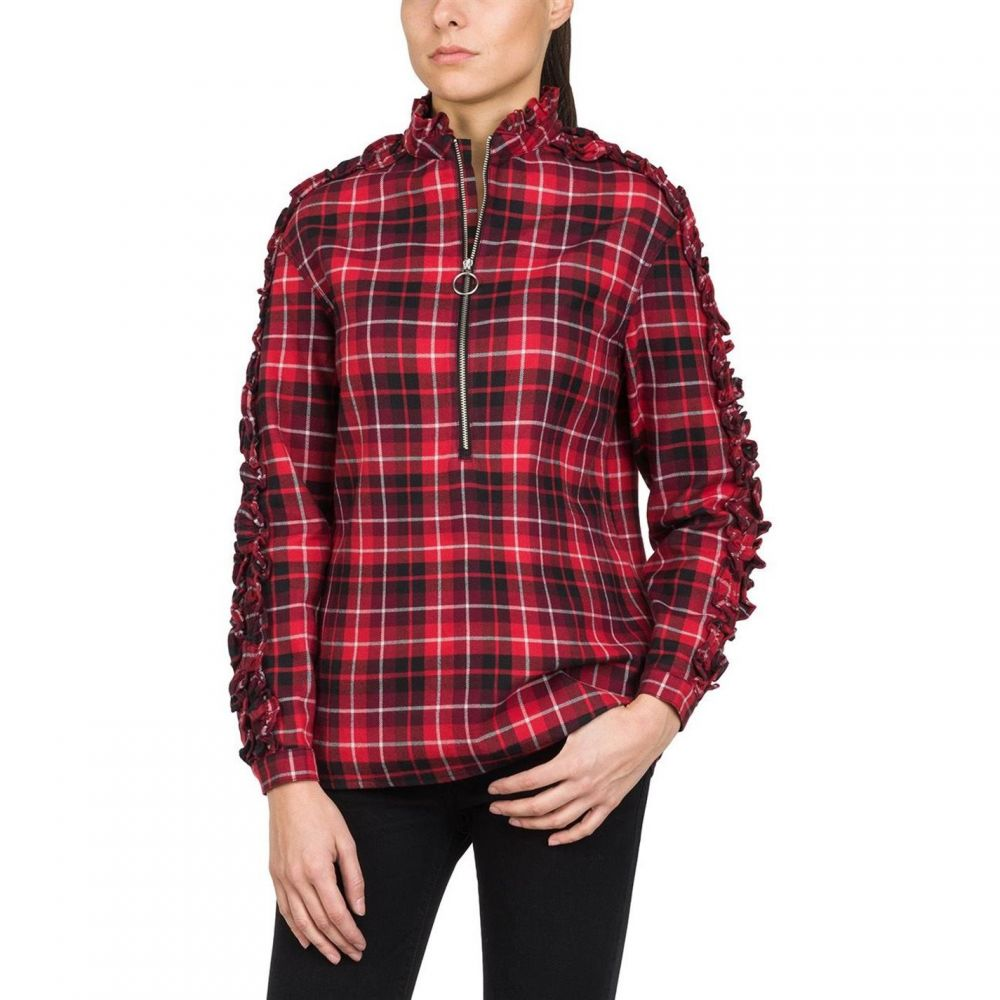 YUNY Men Plaid Pattern Square Collor Long-Sleeve Classic Trim-Fit Washed Shirts AS4 S