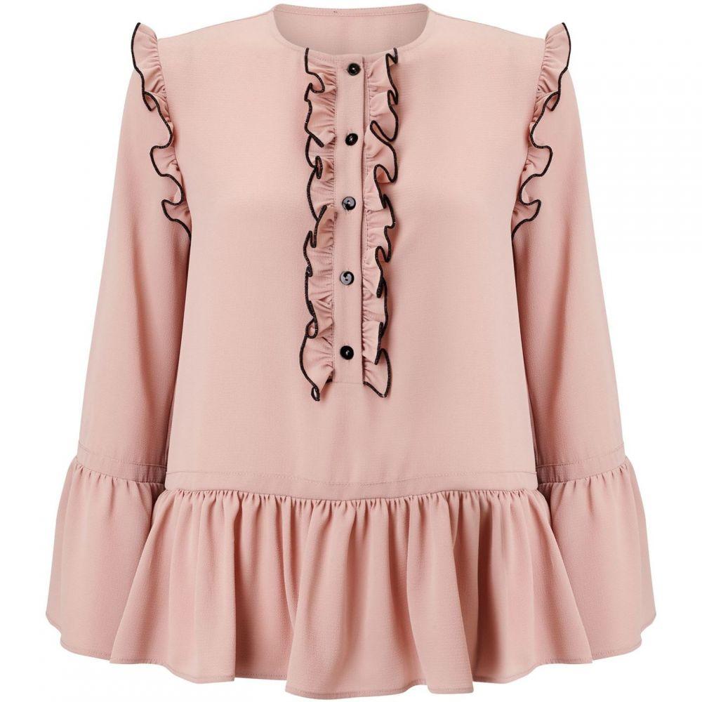 ジュームズ レイクランド James Lakeland レディース ブラウス・シャツ トップス【ruched shirt】Pink