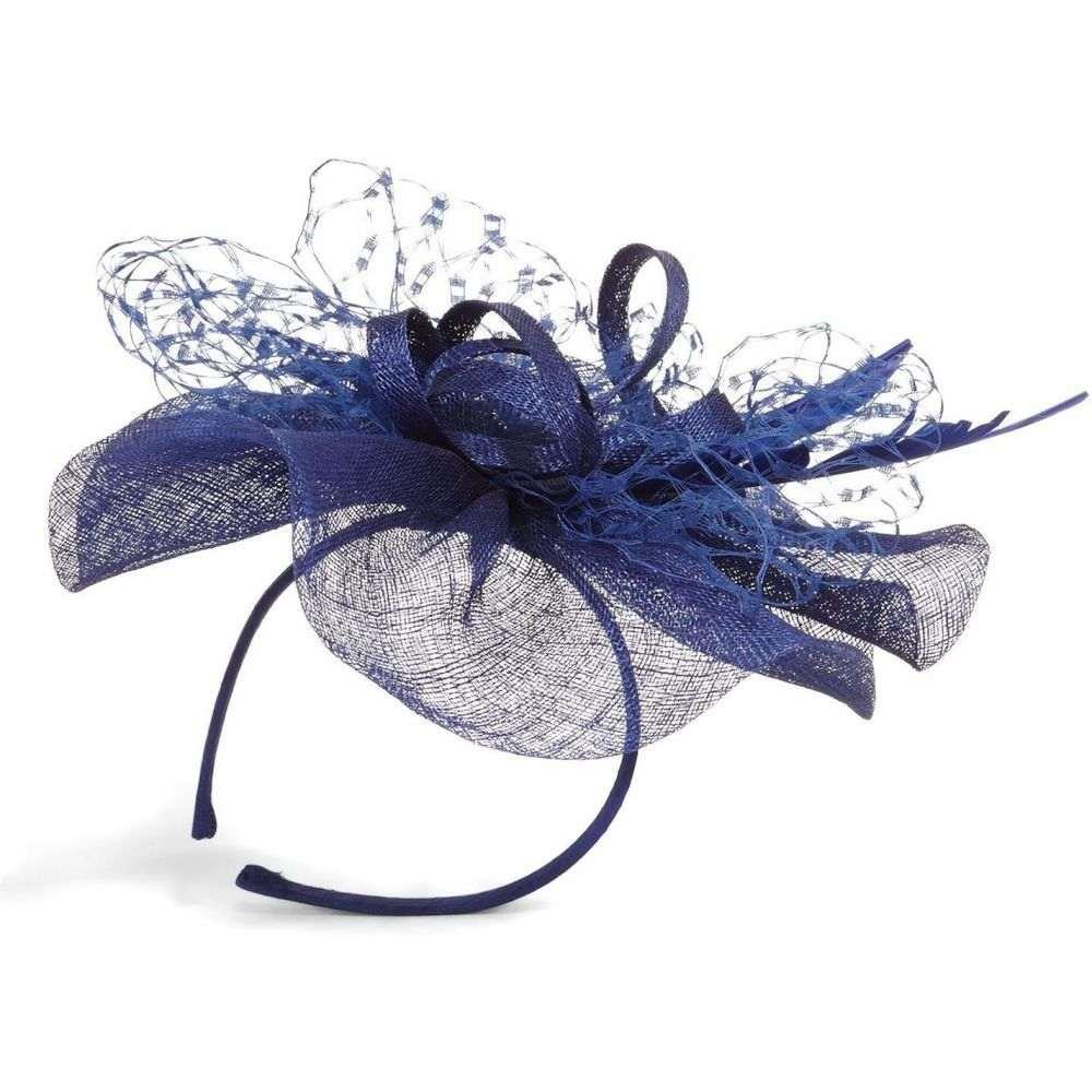 フェーズ エイト Phase Eight レディース ヘアアクセサリー【Sian Lace フェーズ Bow Bow レディース Detail Fascinator】Lapis lazuli, エコライフShop ジーエムピー:448527df --- odigitria-palekh.ru