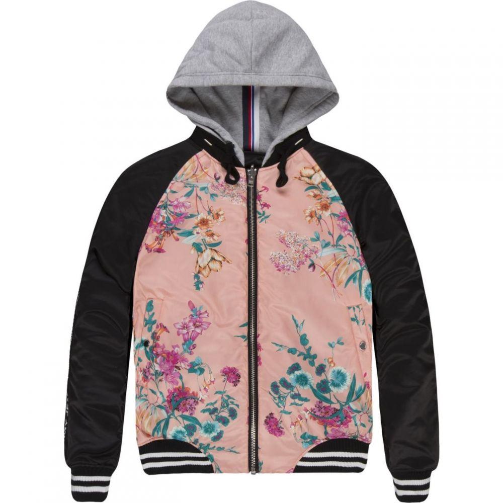 トミー ジーンズ Tommy Jeans レディース ブルゾン ミリタリージャケット アウター【reversible bomber jacket】Black