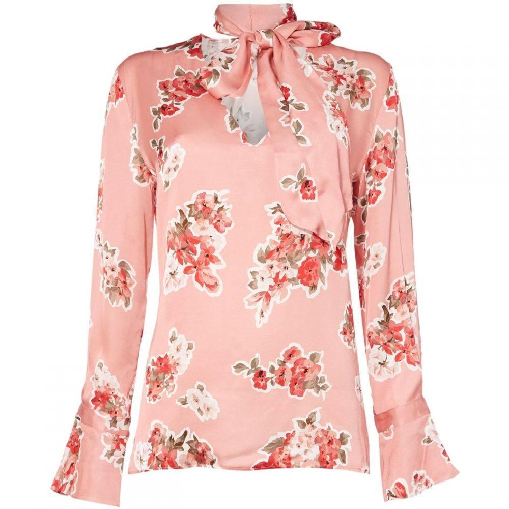 イブルース Iblues レディース ブラウス・シャツ トップス【ebro printed blouse】Pink
