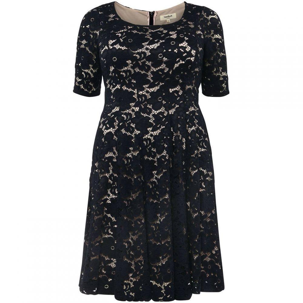 スタジオ8 Studio 8 レディース ワンピース・ドレス ワンピース【Viola dress】Navy