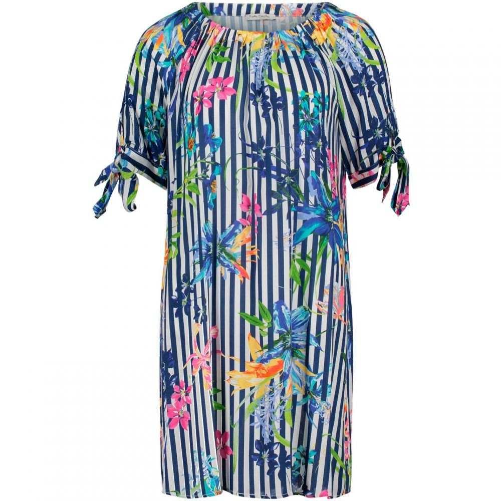 ベティー バークレイ Betty Barclay レディース ワンピース ワンピース・ドレス【stripe print dress】Dark Blue