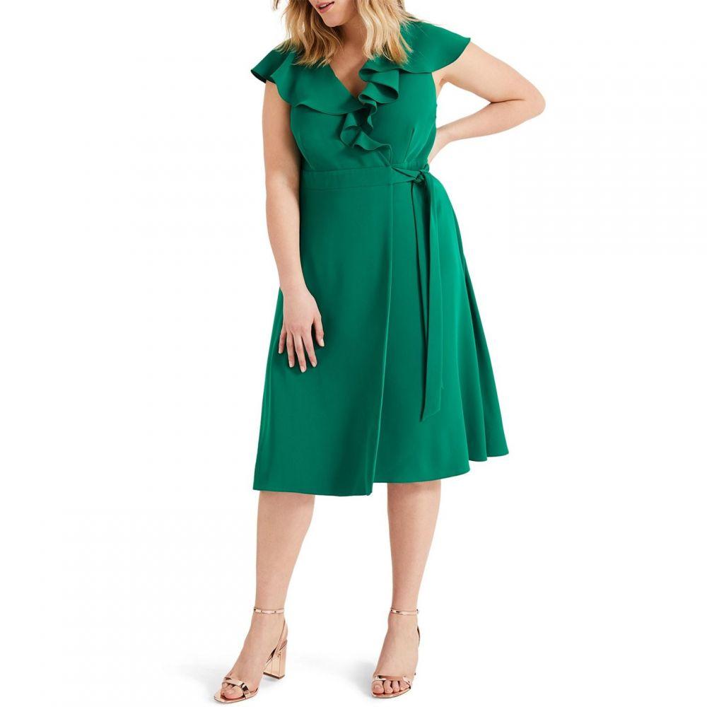 スタジオ8 Studio 8 レディース ワンピース・ドレス ワンピース【Rachel Wrap Dress】Green
