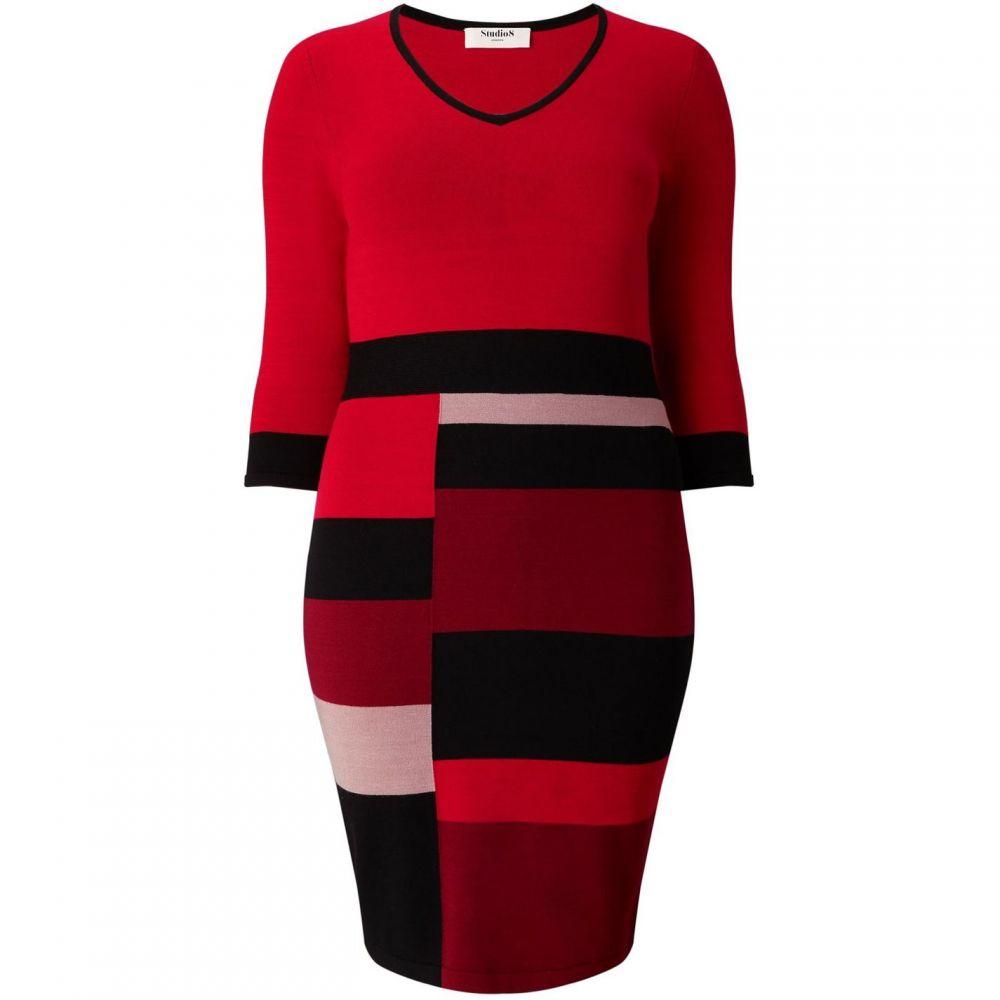 スタジオ8 Studio 8 レディース ワンピース・ドレス ワンピース【Carolyn Dress】Red
