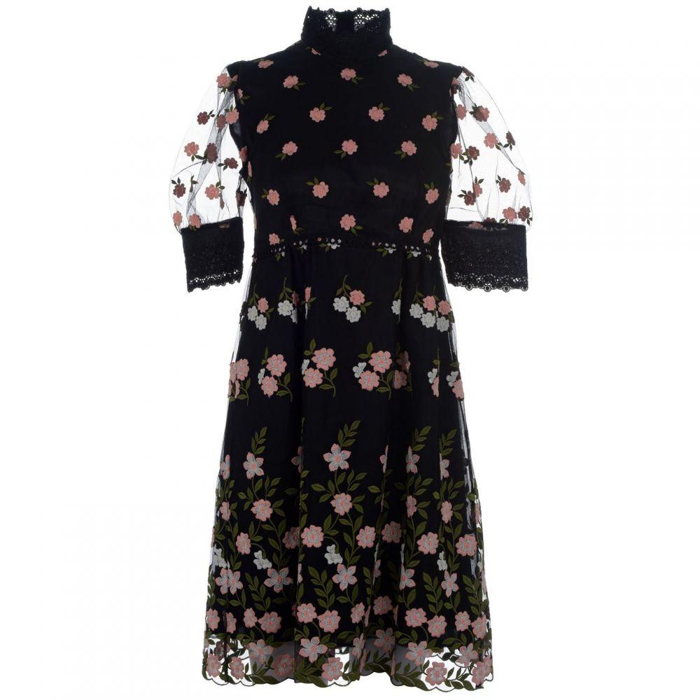 オーラキエリー Orla Kiely レディース ワンピース ワンピース・ドレス【emme dress】Black / Multi