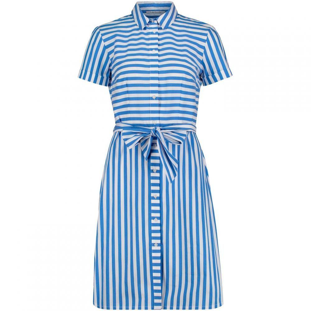 ベティー バークレイ Betty Barclay レディース ワンピース シャツワンピース ワンピース・ドレス【striped shirt dress】Blue Multi