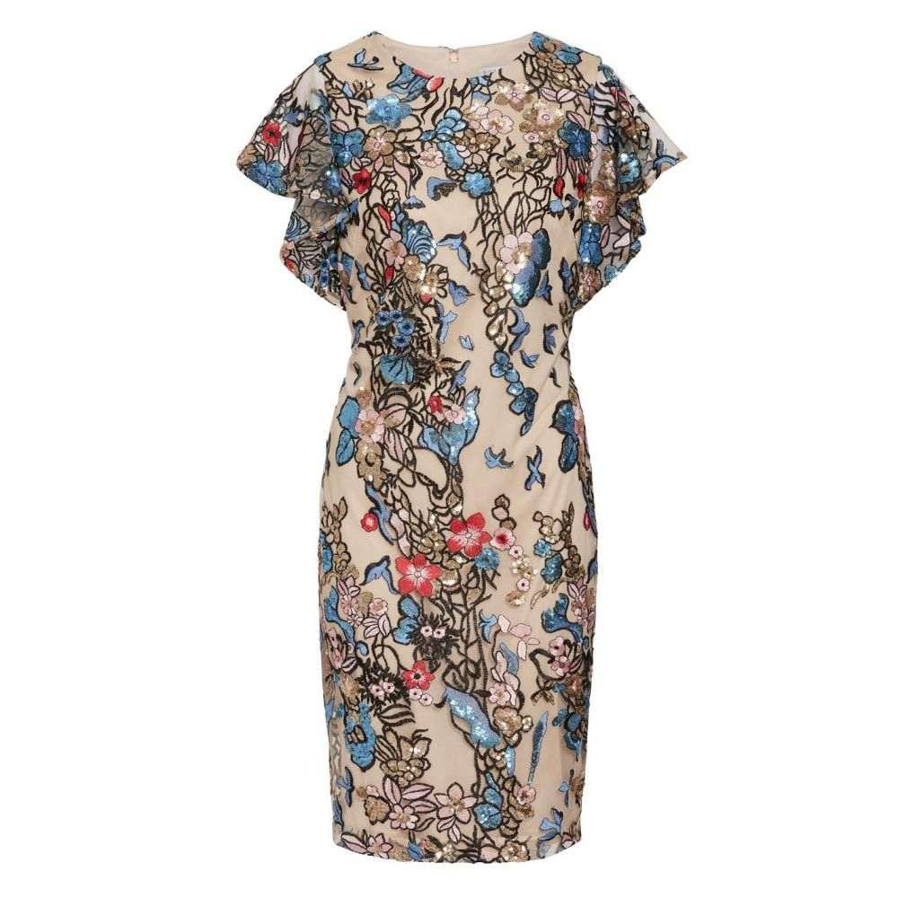 ジーナ バッコーニ Gina Bacconi レディース ワンピース・ドレス ワンピース【Annamaria Sequin Dress】Multi-Coloured