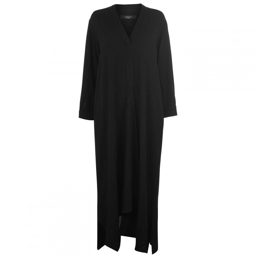 マックスマーラ Max Mara Weekend レディース ワンピース ミドル丈 ワンピース・ドレス【mmw pinta midi dress】BLACK