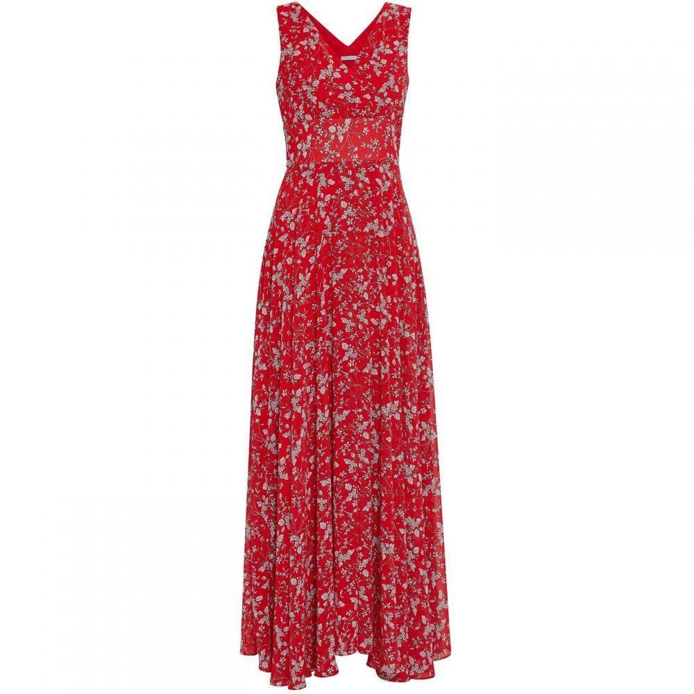 ジーナ バッコーニ Gina Bacconi レディース ワンピース・ドレス ワンピース【Santesa Chiffon Dress】Red