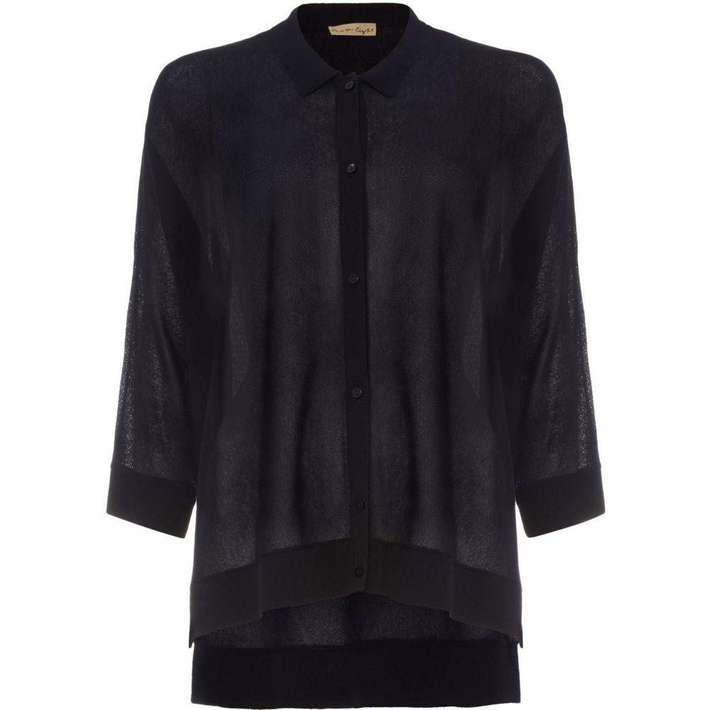 フェーズ エイト Phase Eight レディース Tシャツ トップス【sharla boxy knit shirt】Blue