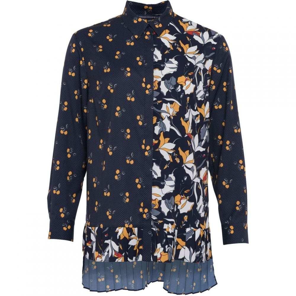 フレンチコネクション French Connection レディース トップス Tシャツ【Aventine Light Pleat Shirt】Multi-Coloured