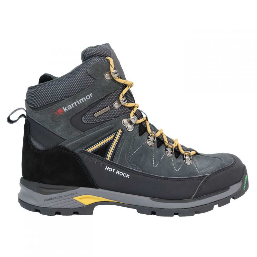 カリマー Karrimor メンズ ランニング・ウォーキング ブーツ シューズ・靴【hot rock walking boots】Charcoal/Yellow