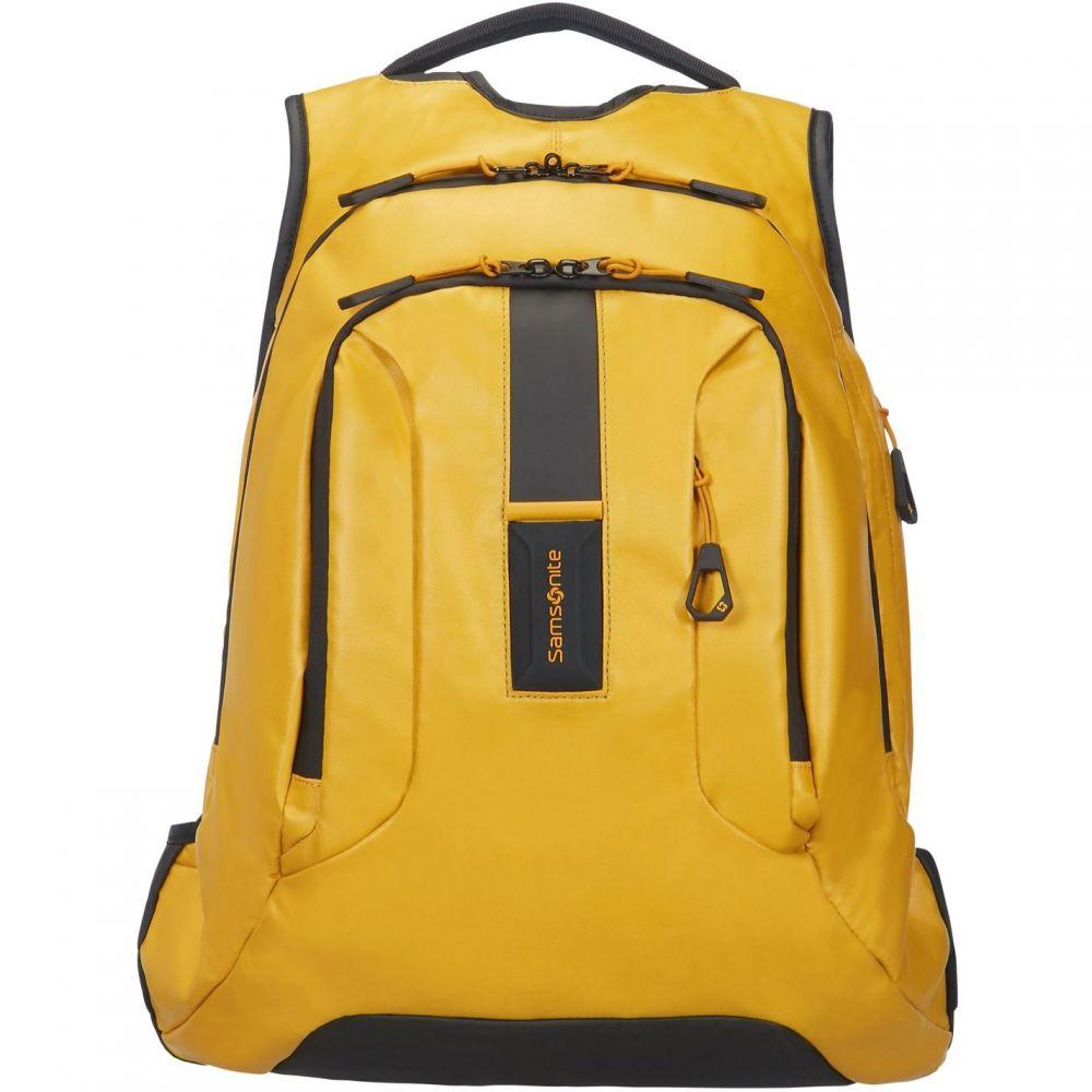サムソナイト Samsonite メンズ バッグ パソコンバッグ【Paradiver Yellow Laptop Backpack】Yellow