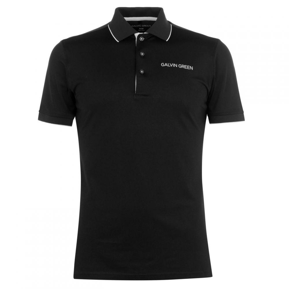 ガルビン グリーン Galvin Green メンズ トップス ポロシャツ【Marty Polo Shirt】Black