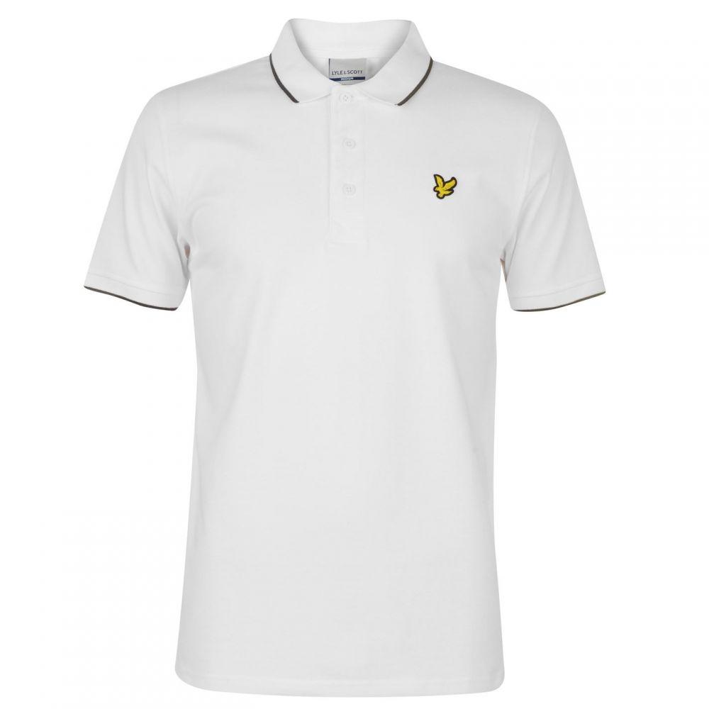ライル アンド スコット Lyle and Scott メンズ トップス ポロシャツ【Tipped Polo Shirt】White