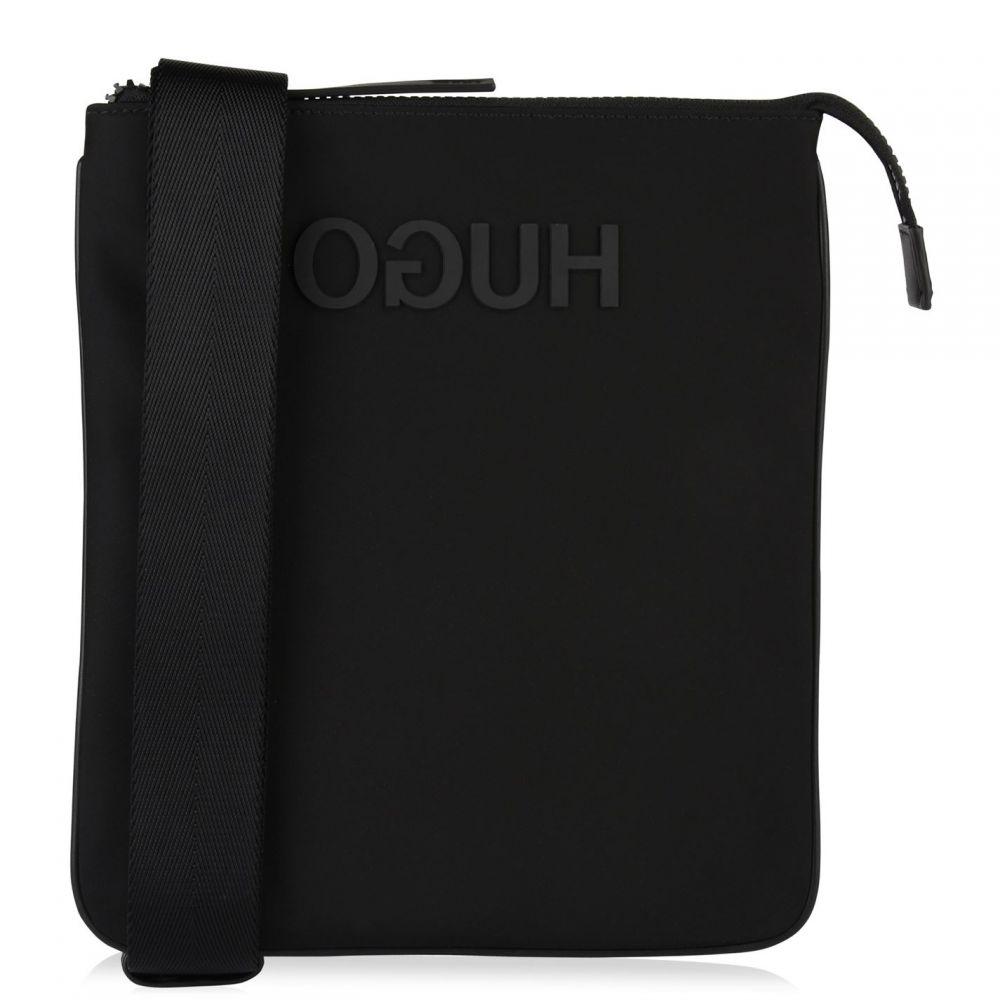 ヒューゴ ボス HUGO メンズ バッグ【Reverse Logo Envelope Bag】Black