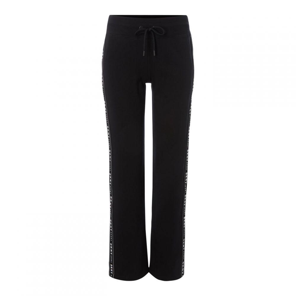 ダナ キャラン ニューヨーク DKNY レディース Tシャツ トップス【slit logo t pantld92】Black