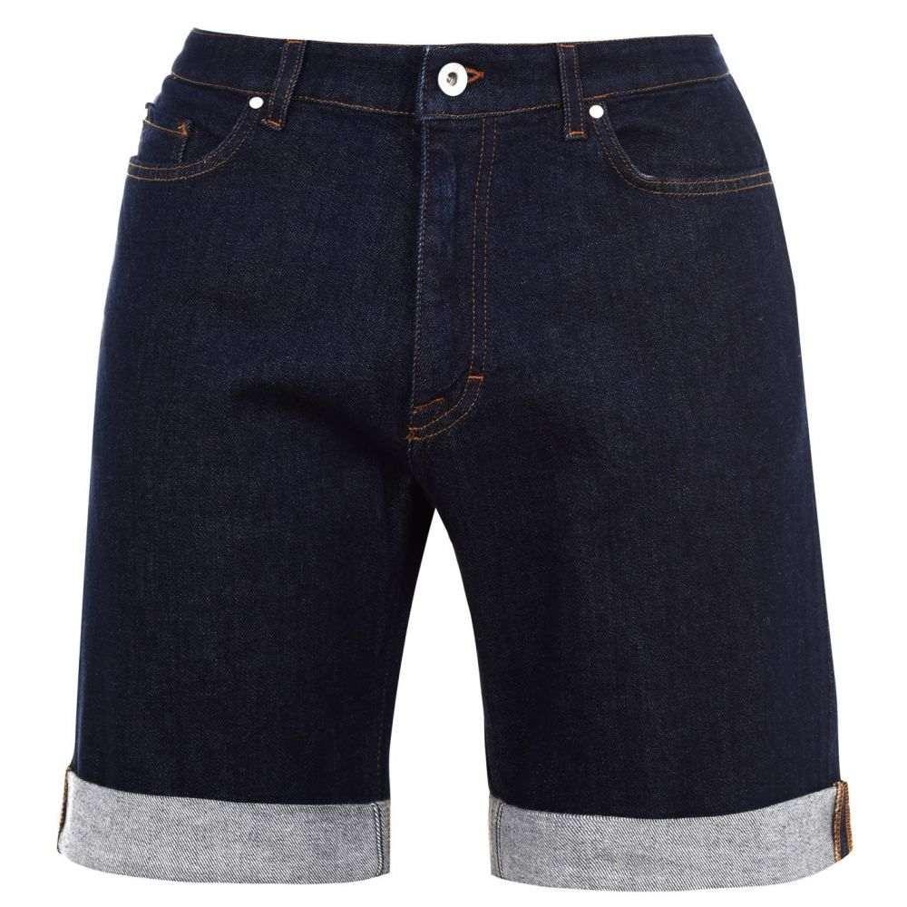 タイガー オブ スウェーデン Tiger of Sweden Jeans メンズ ボトムス・パンツ ショートパンツ【Tiger Ash Denim Shorts】Mdnght blue