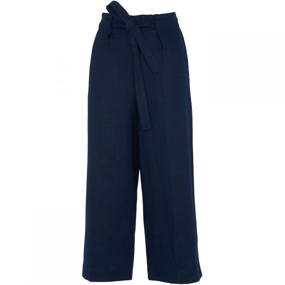 ホイッスルズ Whistles レディース ボトムス・パンツ【Tie Waist Casual Straight Leg】Navy