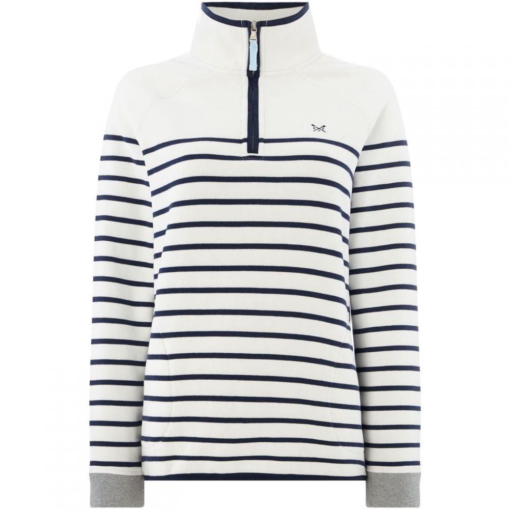 クルークロッシングカンパニー Crew Clothing Company レディース トップス ニット・セーター【Half Zip Sweat】Multi-Coloured