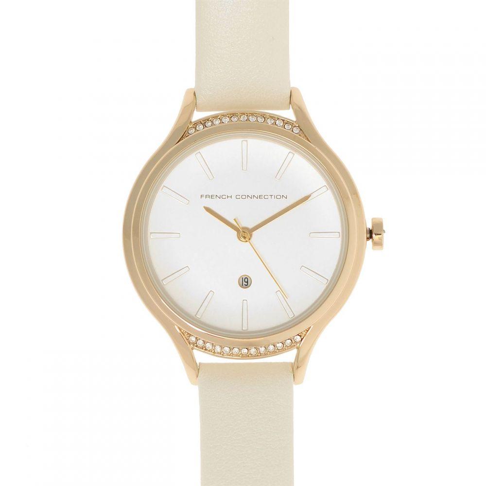 フレンチコネクション French Connection レディース 腕時計【1292WG Watch S99】White/Gold