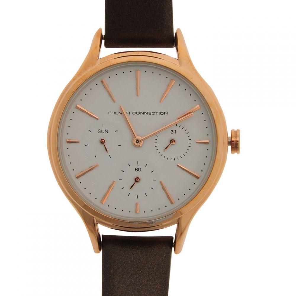 フレンチコネクション French Connection レディース 腕時計【1273TRG Watch】Black/Gold